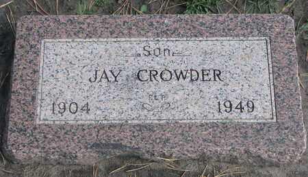 CROWDER, JAY - Union County, South Dakota | JAY CROWDER - South Dakota Gravestone Photos