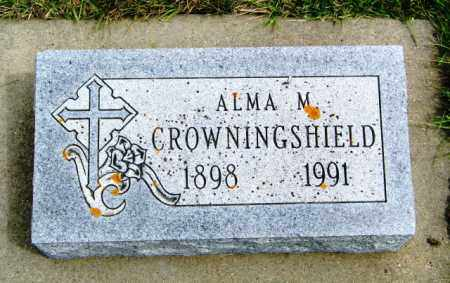 CROWNINGSHIELD, ALMA M. - Union County, South Dakota   ALMA M. CROWNINGSHIELD - South Dakota Gravestone Photos