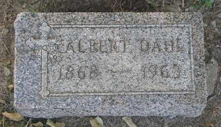 DAHL, ALBERT - Union County, South Dakota | ALBERT DAHL - South Dakota Gravestone Photos