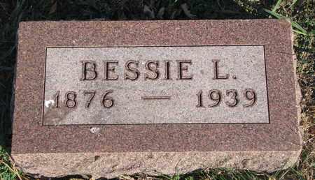 DAHL, BESSIE L. - Union County, South Dakota   BESSIE L. DAHL - South Dakota Gravestone Photos