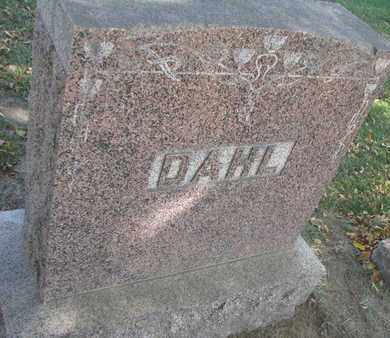 DAHL, FAMILY STONE - Union County, South Dakota   FAMILY STONE DAHL - South Dakota Gravestone Photos