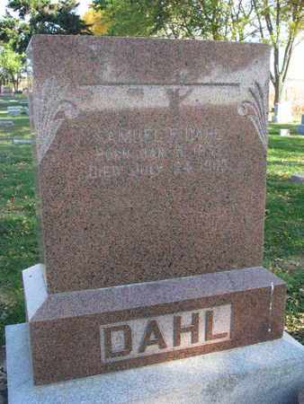 DAHL, SAMUEL - Union County, South Dakota | SAMUEL DAHL - South Dakota Gravestone Photos
