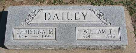 DAILEY, WILLIAM T. - Union County, South Dakota | WILLIAM T. DAILEY - South Dakota Gravestone Photos
