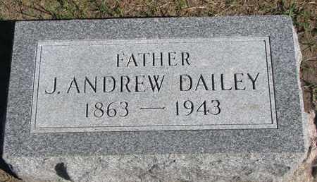 DAILEY, J. ANDREW - Union County, South Dakota   J. ANDREW DAILEY - South Dakota Gravestone Photos
