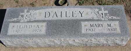 DAILEY, LLOYD A. - Union County, South Dakota   LLOYD A. DAILEY - South Dakota Gravestone Photos