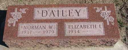 DAILEY, NORMAN W. - Union County, South Dakota | NORMAN W. DAILEY - South Dakota Gravestone Photos