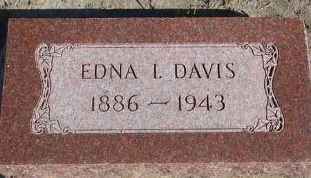 DAVIS, EDNA I. - Union County, South Dakota | EDNA I. DAVIS - South Dakota Gravestone Photos