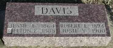 DAVIS, ELTON F - Union County, South Dakota | ELTON F DAVIS - South Dakota Gravestone Photos