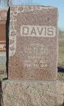 DAVIS, JOHN D - Union County, South Dakota | JOHN D DAVIS - South Dakota Gravestone Photos