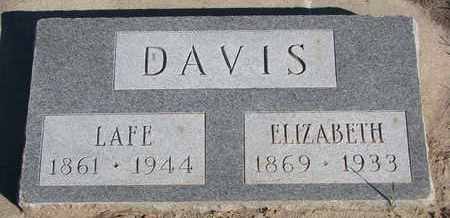 DAVIS, ELIZABETH - Union County, South Dakota | ELIZABETH DAVIS - South Dakota Gravestone Photos