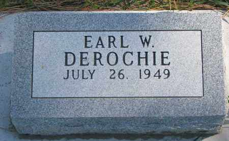 DEROCHIE, EARL W. - Union County, South Dakota | EARL W. DEROCHIE - South Dakota Gravestone Photos
