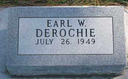 DEROCHIE, EARL W. - Union County, South Dakota | EARL W. DEROCHIE - South Dakota Gravestone Photos
