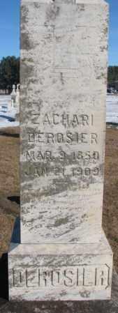 DEROSIER, ZACHARI - Union County, South Dakota | ZACHARI DEROSIER - South Dakota Gravestone Photos