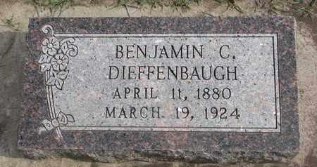 DIEFFENBAUGH, BENJAMIN C. - Union County, South Dakota   BENJAMIN C. DIEFFENBAUGH - South Dakota Gravestone Photos