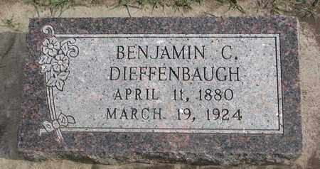 DIEFFENBAUGH, BENJAMIN C. - Union County, South Dakota | BENJAMIN C. DIEFFENBAUGH - South Dakota Gravestone Photos
