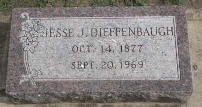 DIEFFENBAUGH, JESSE J. - Union County, South Dakota | JESSE J. DIEFFENBAUGH - South Dakota Gravestone Photos