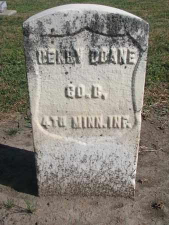 DOANE, HENRY - Union County, South Dakota | HENRY DOANE - South Dakota Gravestone Photos