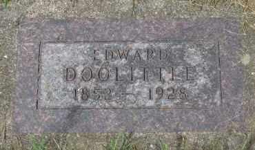 DOOLITTLE, EDWARD - Union County, South Dakota | EDWARD DOOLITTLE - South Dakota Gravestone Photos