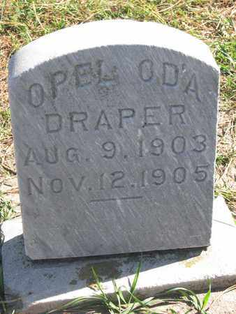 DRAPER, OPEL ODA - Union County, South Dakota | OPEL ODA DRAPER - South Dakota Gravestone Photos