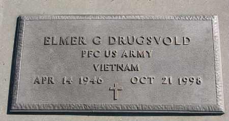 DRUGSVOLD, ELMER G. (VIETNAM) - Union County, South Dakota | ELMER G. (VIETNAM) DRUGSVOLD - South Dakota Gravestone Photos