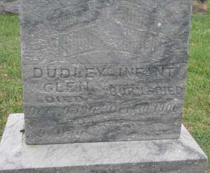 DUDLEY, INFANT (CLOSEUP) - Union County, South Dakota | INFANT (CLOSEUP) DUDLEY - South Dakota Gravestone Photos