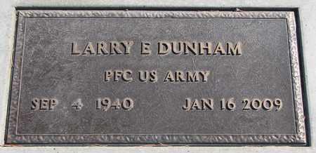 DUNHAM, LARRY E. (MILITARY) - Union County, South Dakota | LARRY E. (MILITARY) DUNHAM - South Dakota Gravestone Photos