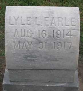 EARLE, LYLE L. - Union County, South Dakota | LYLE L. EARLE - South Dakota Gravestone Photos