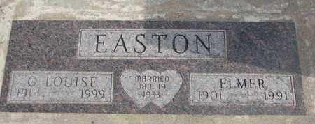 EASTON, ELMER - Union County, South Dakota | ELMER EASTON - South Dakota Gravestone Photos