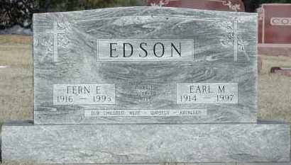 EDSON, EARL M. - Union County, South Dakota | EARL M. EDSON - South Dakota Gravestone Photos