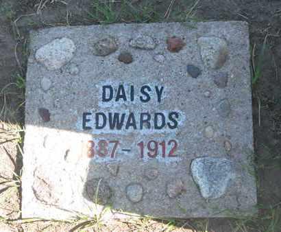 EDWARDS, DAISY - Union County, South Dakota | DAISY EDWARDS - South Dakota Gravestone Photos