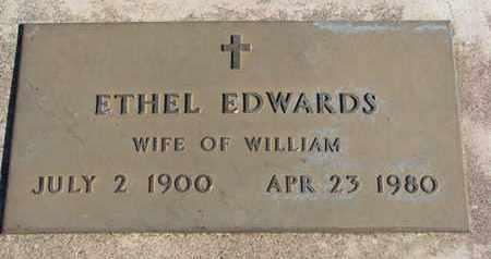 EDWARDS, ETHEL - Union County, South Dakota | ETHEL EDWARDS - South Dakota Gravestone Photos