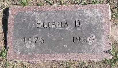 EDWARDS, ELISHA D. - Union County, South Dakota   ELISHA D. EDWARDS - South Dakota Gravestone Photos