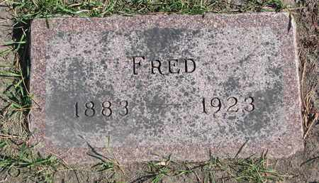 EDWARDS, FRED - Union County, South Dakota   FRED EDWARDS - South Dakota Gravestone Photos