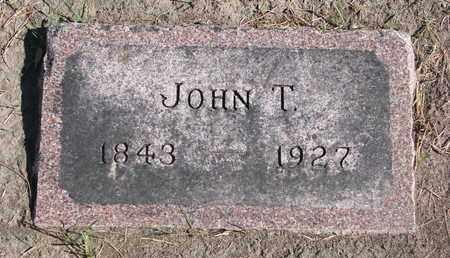 EDWARDS, JOHN T. - Union County, South Dakota | JOHN T. EDWARDS - South Dakota Gravestone Photos