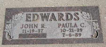 EDWARDS, JOHN R. - Union County, South Dakota | JOHN R. EDWARDS - South Dakota Gravestone Photos