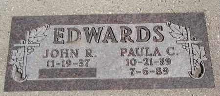 EDWARDS, PAULA C. - Union County, South Dakota | PAULA C. EDWARDS - South Dakota Gravestone Photos
