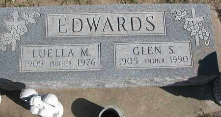 EDWARDS, LUELLA M. - Union County, South Dakota | LUELLA M. EDWARDS - South Dakota Gravestone Photos