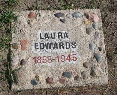EDWARDS, LAURA - Union County, South Dakota | LAURA EDWARDS - South Dakota Gravestone Photos