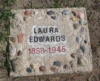 EDWARDS, LAURA - Union County, South Dakota | LAURA EDWARDS - South Dakota Gravestone Photos