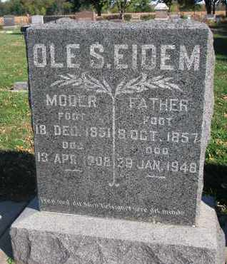 EIDEM, FATHER - Union County, South Dakota | FATHER EIDEM - South Dakota Gravestone Photos