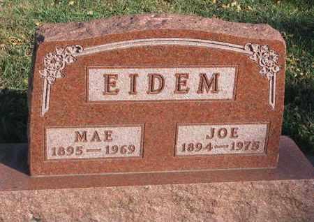 EIDEM, JOE - Union County, South Dakota | JOE EIDEM - South Dakota Gravestone Photos
