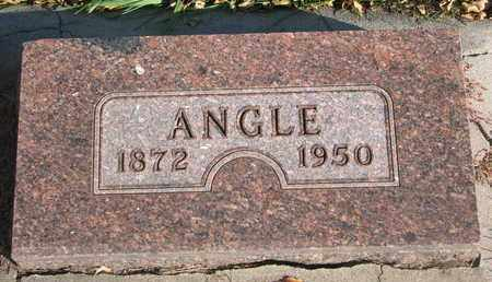 ELEESON, ANGLE - Union County, South Dakota   ANGLE ELEESON - South Dakota Gravestone Photos