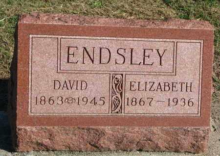 ENDSLEY, DAVID - Union County, South Dakota | DAVID ENDSLEY - South Dakota Gravestone Photos
