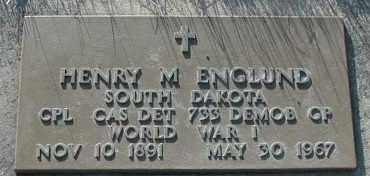 ENGLUND, HENRY MARTIN - Union County, South Dakota | HENRY MARTIN ENGLUND - South Dakota Gravestone Photos