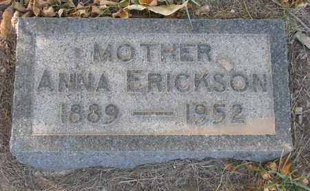 ERICKSON, ANNA - Union County, South Dakota | ANNA ERICKSON - South Dakota Gravestone Photos