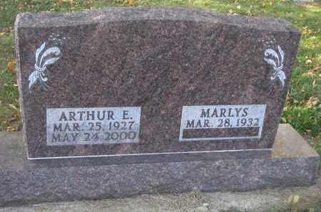 ERICKSON, ARTHUR E. - Union County, South Dakota | ARTHUR E. ERICKSON - South Dakota Gravestone Photos