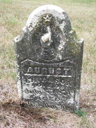 ERICKSON, AUGUST - Union County, South Dakota | AUGUST ERICKSON - South Dakota Gravestone Photos