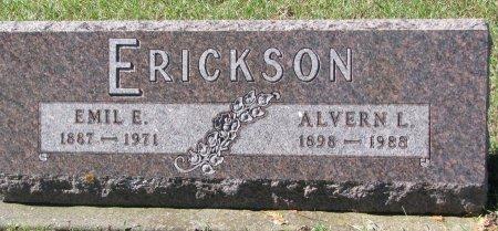 ERICKSON, ALVERN L. - Union County, South Dakota   ALVERN L. ERICKSON - South Dakota Gravestone Photos