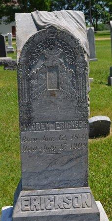 ERICKSON, ANDREW - Union County, South Dakota | ANDREW ERICKSON - South Dakota Gravestone Photos
