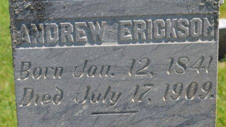 ERICKSON, ANDREW (CLOSE UP) - Union County, South Dakota   ANDREW (CLOSE UP) ERICKSON - South Dakota Gravestone Photos